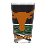 Texas Longhorns 16 oz Field Pint