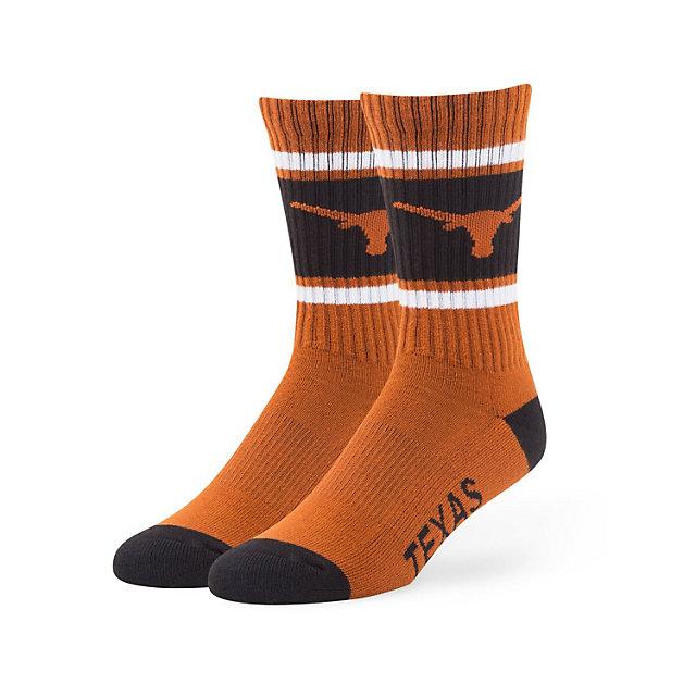 Texas Longhorns 47 Burnt Orange Duster Sport Socks