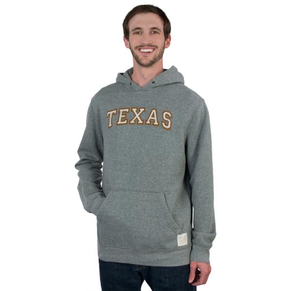 Texas Longhorns Retro Fleece Hoody