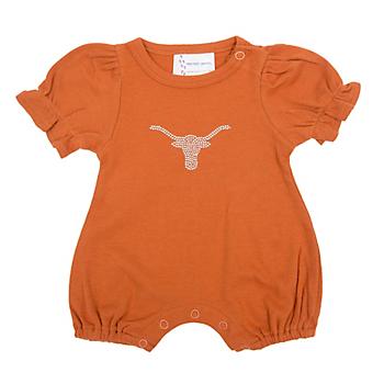 Texas Longhorns Girls Romper