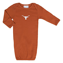 Texas Longhorns Layette Gown