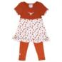 Texas Longhorns Toddler Chevron Legging Set