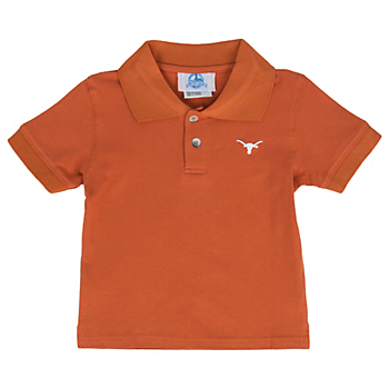Texas Longhorns Toddler Golf Shirt