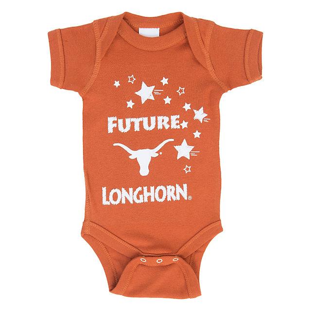 Texas Longhorns Lap Shoulder Onesie