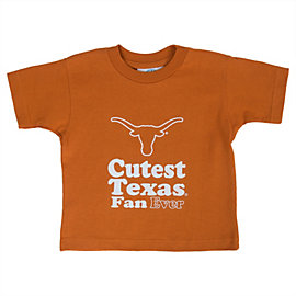 Texas Longhorns Toddler Texas Fan Short Sleeve Shirt