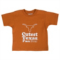 Texas Longhorns Toddler Texas Fan Short Sleeve Shirt