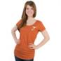 Texas Longhorns Nike Womens Scoop Neck Triblend Tee