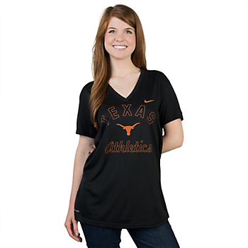 Texas Longhorns Nike Legend V-Neck Tee