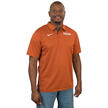 Texas Longhorns Nike Game Time Polo