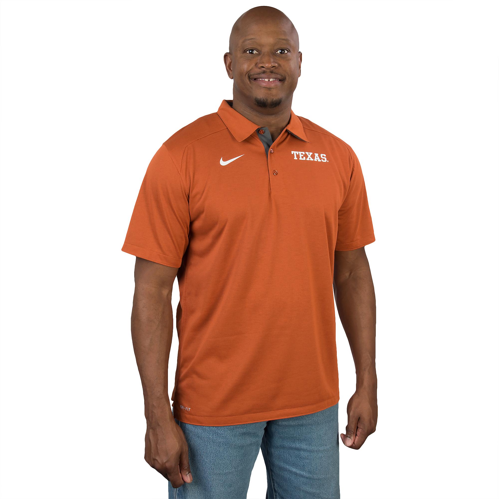 Texas Longhorns Nike Game Time Polo