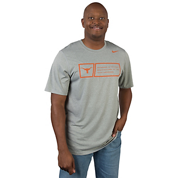Texas Longhorns Nike Legend Training Day Tee