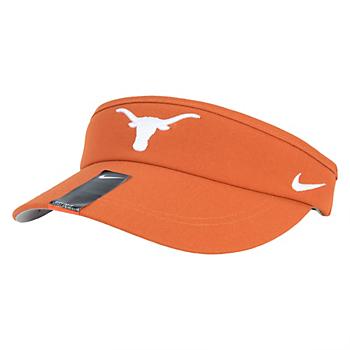 Texas Longhorns Nike Sideline Dri-Fit Visor