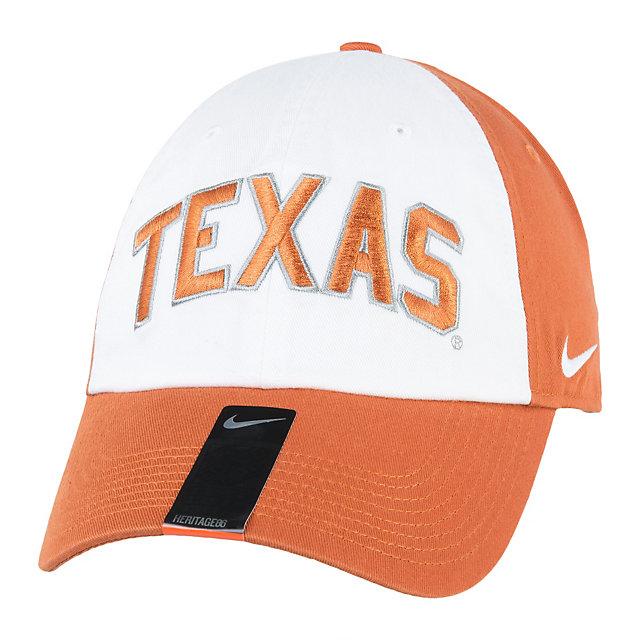 Texas Longhorns Nike Heritage86 Wordmark Verbiage Cap