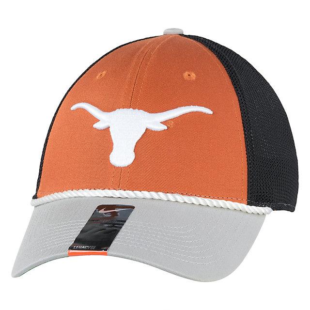 Texas Longhorns Nike L91 Swooshflex Word Logo Cap