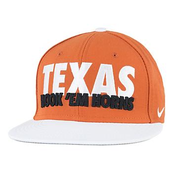 Texas Longhorns Nike True Verbiage Cap