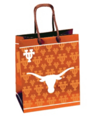 Texas Longhorns Large Gift Bag