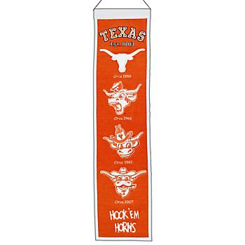 Texas Longhorns Heritage Banner