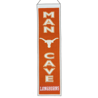 Texas Longhorns Man Cave Banner