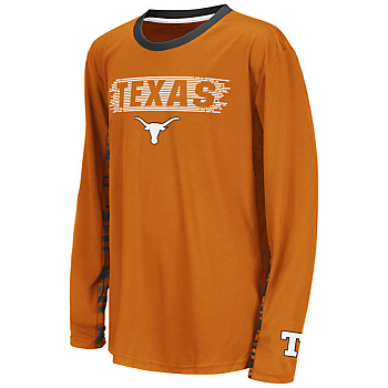 Texas Longhorns Youth Oil Slick Kicker Tee