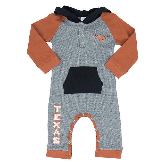 Texas Longhorns Colosseum Infant Robin Hooded Onesie