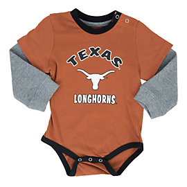 Texas Longhorns Colosseum Infant Thermal Onesie