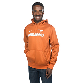 Texas Longhorns Nike Sideline KO Fleece Pullover