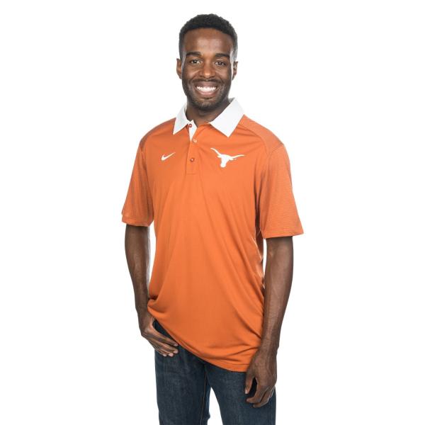 Texas Longhorns Nike Elite Coaches Polo
