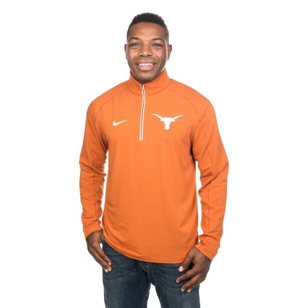 Texas Longhorns Nike Game Day Half Zip Top