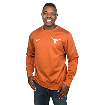 Texas Longhorns Nike Sideline KO Fleece Crew