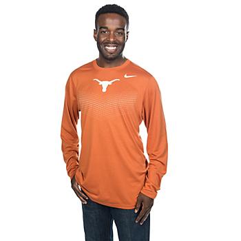Texas Longhorns Nike Legend Sideline Long Sleeve Tee