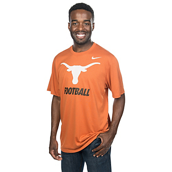 Texas Longhorns Nike Legend Logo Short Sleeve Tee