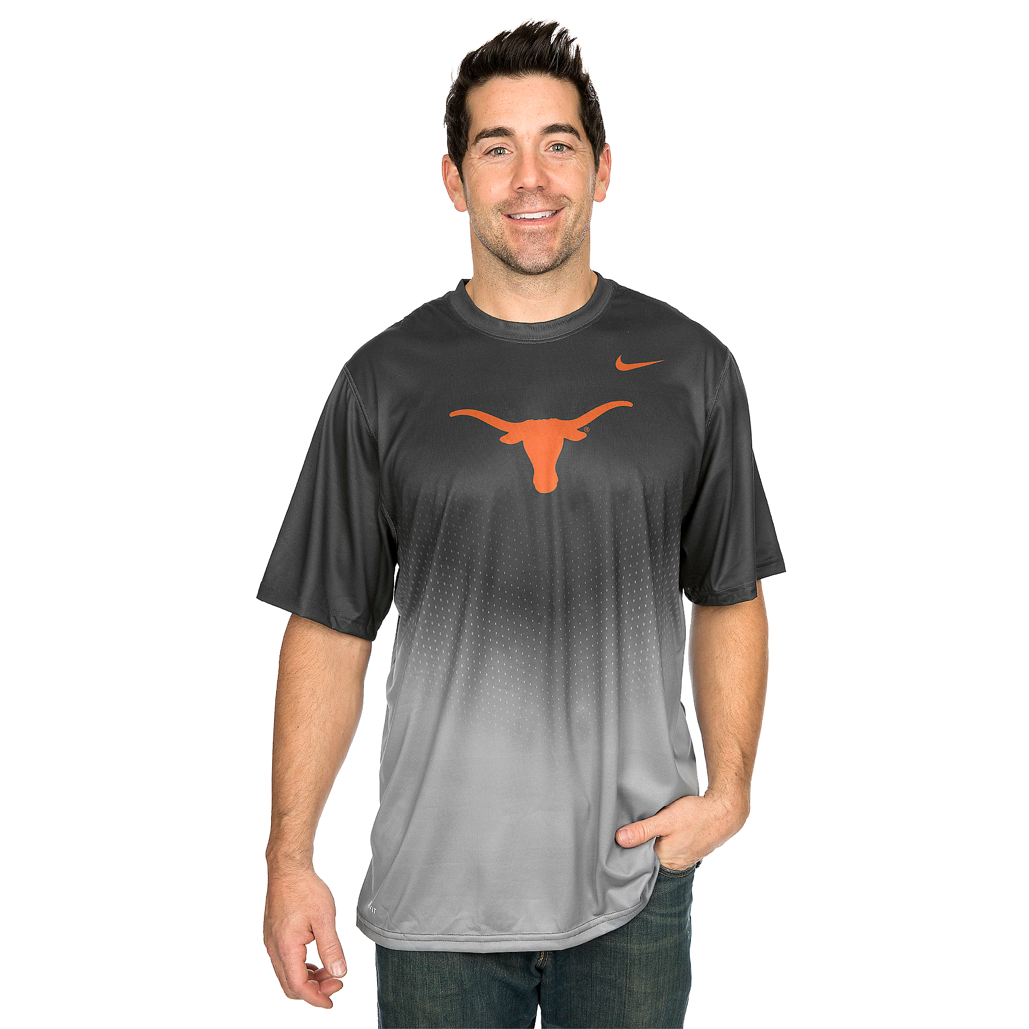 Texas Longhorns Nike Legend New Day Tee