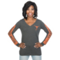 Texas Longhorns Nike Womens Triblend Mod Long Sleeve Tee