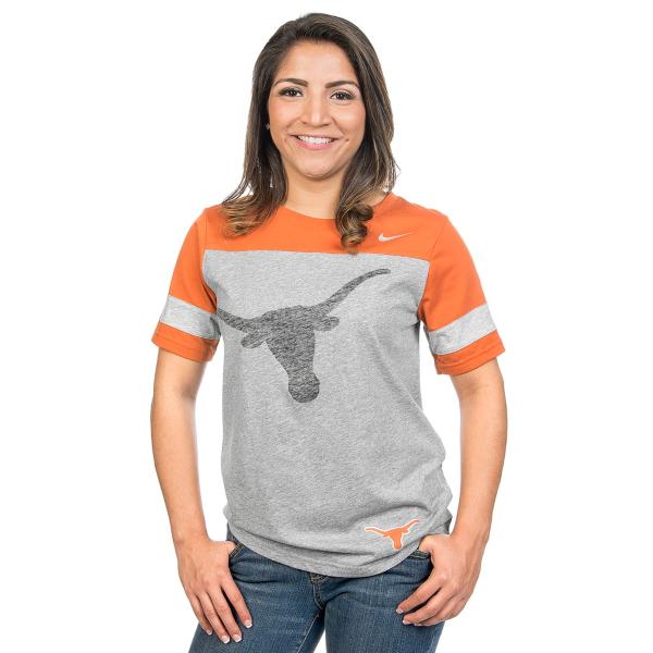 Texas Longhorns Womens Driven Fan Tee