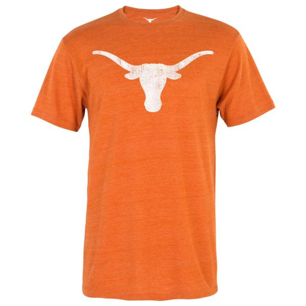 Texas Longhorns Distressed Silhouette Tee