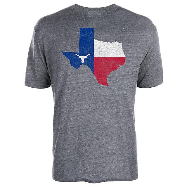 Texas Longhorns Flag State Tee