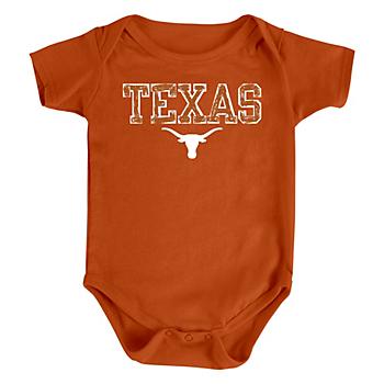 Texas Longhorns Infant Timmy Bodysuit