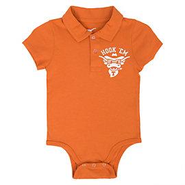 Texas Longhorns Infant Brookfield Polo Bodysuit