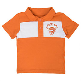 Texas Longhorns Toddler Hillsdale Polo