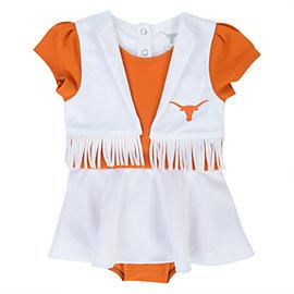Texas Longhorns Infant Pom Pom Cheer Uniform