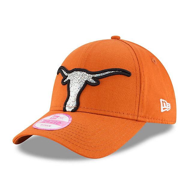 Texas Longhorns New Era Glitter Glam 2 Cap