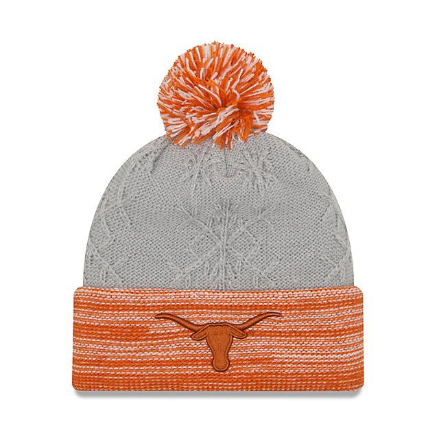 Texas Longhorns New Era Snow Crown Redux Knit Hat
