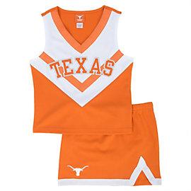 Texas Longhorns Girls Spirit Cheer Uniform