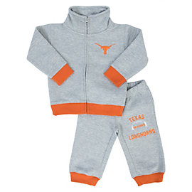 Texas Longhorns Toddler Spencer Fleece Set