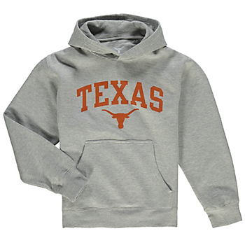 Texas Longhorns Youth Arch Basic Hoody