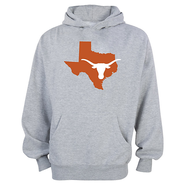 Texas Longhorns Youth Longhorn State Basic Hoody