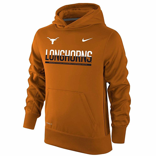 Texas Longhorns Nike Youth KO Fleece Hoody