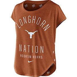 Texas Longhorns Nike Womens Gameday Signal Triblend Tee