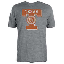 Texas Longhorns Letter Seal Short Sleeve Tee