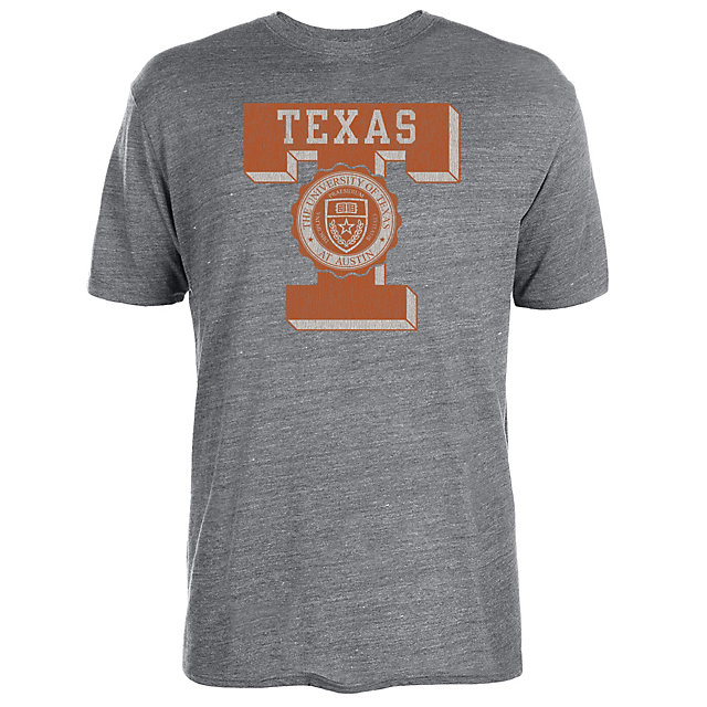 Texas Longhorns Letter Seal Short Sleeve Tee